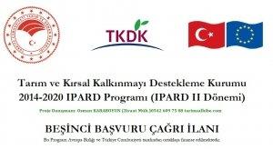 TKDK Beşinci Başvuru Çağrı İlanı